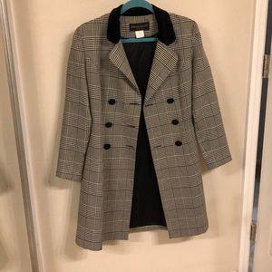 Vintage Pinup 1940s Style Dress Pea Coat